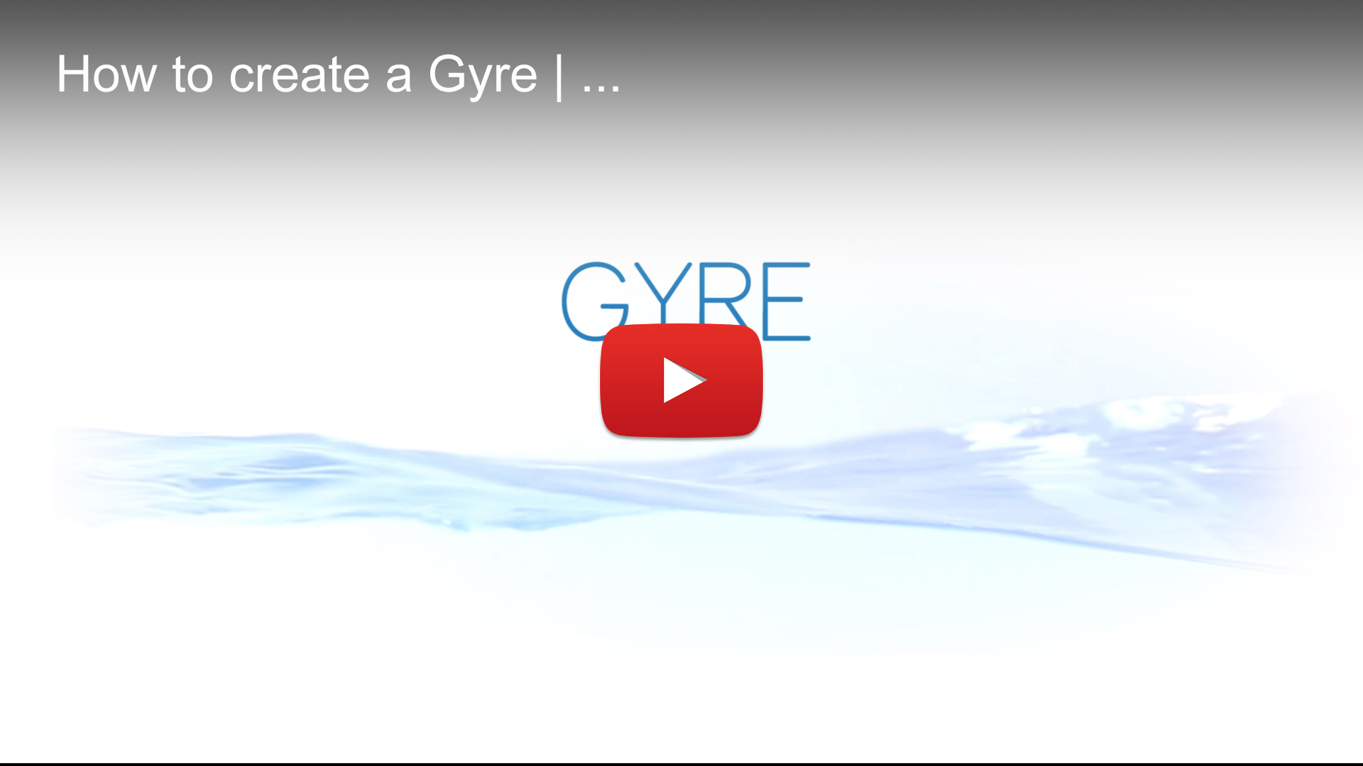 Create Gyre   Waver